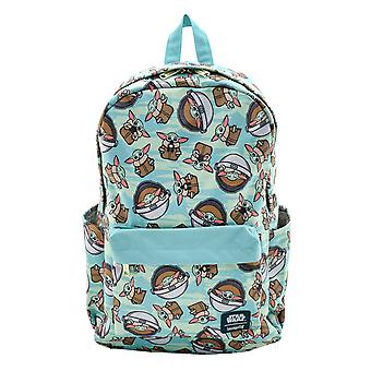 Star Wars Backpack The Child Baby Yoda All over print new Official Loungefly