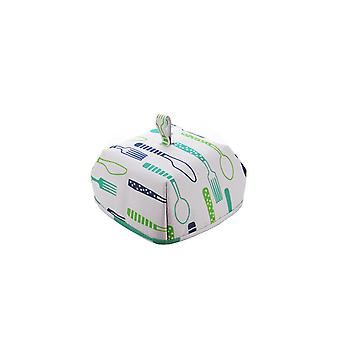 Household Collapsible Food Cover Blue 20x20x11.5CM