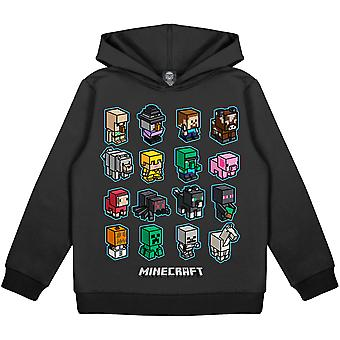 Minecraft Mini Mobs Girls Pullover Hoodie | Official Merchandise