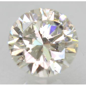 شهادة 1.16 قيراط أنا VVS2 جولة الرائعة المحسنة الطبيعية فضفاضة الماس 6.75m
