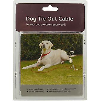 Rosewood Dog Tie-out Cablu - 30 ft