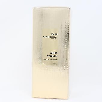 Aoud Vanille door Mancera Eau De Parfum 4oz/120ml Spray Nieuw met Doos