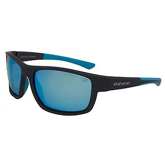 Sunglasses Unisex Sport Polarizes Black/Blue (07:50 P2)