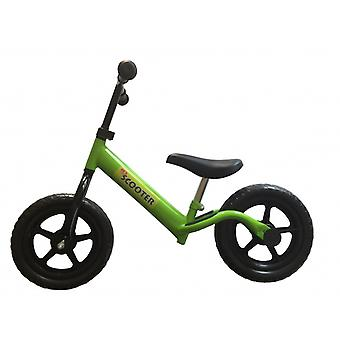 Kinder Scooter Walking Bike 12 Inch Boys Green