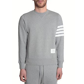 Thom Browne Mjt021h00535068 Men's Grey Cotton Sweatshirt