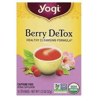 Yogi Tea- Berry DeTox, NA, 16 Bags