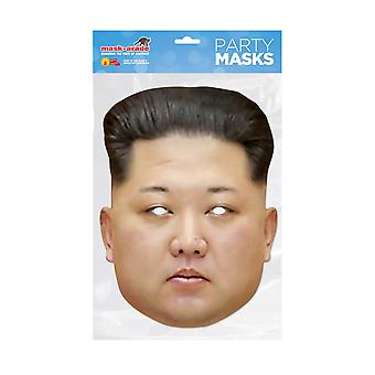 Mask-arade Kim Jong Un Celebrities Party Face Mask