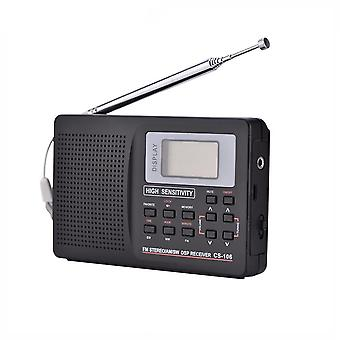 Portable Sound-full Frequency-receiver Alarm Clock Radio