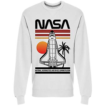 Nasa Space Ship Men's Tröja