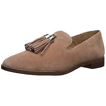Franco Sarto Womens Hadden Suede Almond Toe Loafers