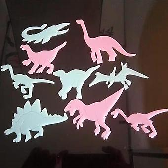 Fluorescent Dinosaurs Stickers Baby Kids Toy, Luminous Glow In The Dark