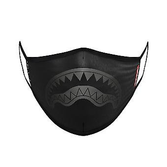 Sprayground Midnight Shark Mask - Black
