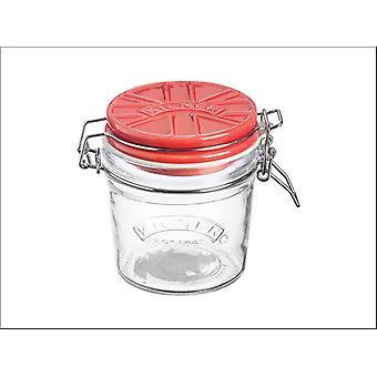 Kilner Ceramic Clip Jar Red 0.35L 0025.517