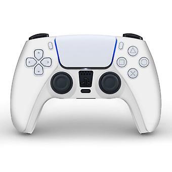 الاشياء المعتمدة® المضادة للانزلاق كم / الجلد لبلاي ستيشن 5 وحدة تحكم القضية - قبضة غطاء PS5 - أبيض