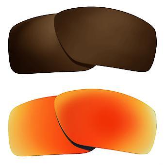 الاستقطاب عدسات استبدال ل Oakley كبيرة تاكو النظارات الشمسية المضادة للخدش المضادة للوهج UV400 من قبل SeekOptics