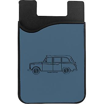 London Taxi Company TX4 Light Outline Phone Card Holder