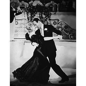 Fliegen bis Rio Ginger Rogers Fred Astaire 1933 tanzen die Carioca-Foto-Druck