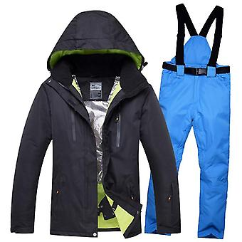 New Lover Men/women Waterproof Thermal Snow Pants Sets, Skiing And Snowboarding