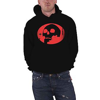 Gorillaz Hoodie Skull Band Logo The Now Now new Official Mens Black Pullover