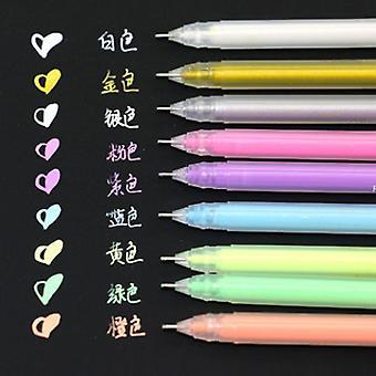 القرطاسية مكتب تعلم قلم سكرابوكينغ لطيف (9pcs)