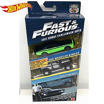 Echte Hot Wheels Fast and Furious Serie Auto's Dodge Charger Preferentiële Pack