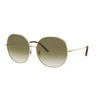 Oliver Peoples Darlin OV1280S 5035/8E Gold/Olive Gradient Sunglasses