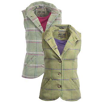 Walker ja Hawkes - Naiset Tweed Ashby Waistcoat