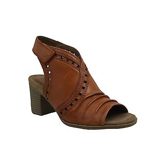 Rockport Womens Hattie Envelope Leather Peep Toe Casual Ankle Strap Sandals
