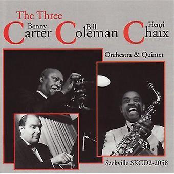 Carter/Coleman/Chaix - Three C's [CD] USA import