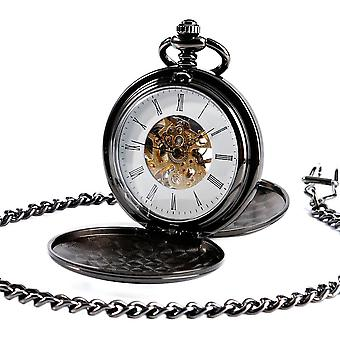 Navidad Kerstmis Smooth Mechanische Pocket Watch Mannen / Vrouwen