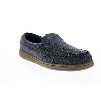Osiris Embark  Mens Black Canvas Skate Inspired Sneakers Shoes