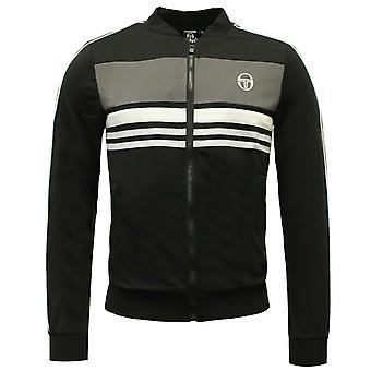 Sergio Tacchini Mens Ishen pista top zip up jumper jacket 37689 177 X6A