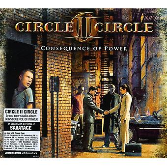 Circle II Circle - följden av Power [CD] USA import