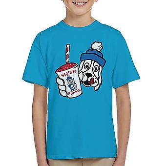 Slush Puppie Retro Cup Logo Kid's T-Shirt