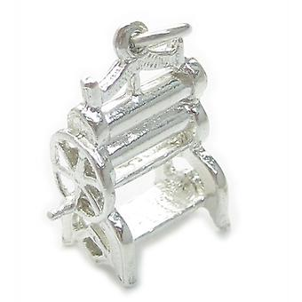 Mangel Sterling Silver Charm .925 X 1 Oude Stijl Drogere Charms - 4832