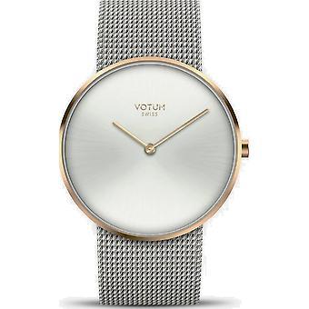 VOTUM - Ladies watch - CIRCLE - Pure - V01.20.10.91 - Milanaisband - Steel