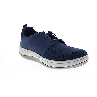Clarks Arla Free  Mens Blue Mesh Lifestyle Sneakers Shoes
