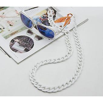 Fashion Acrylic Sunglasses Chain Women Reading Glasses Hanging Neck Straps