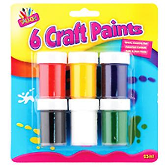 ArtBox 6 Craft Paint Pots