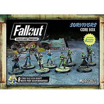 Fallout: Wasteland Warfare - Survivors Core Box Board Game