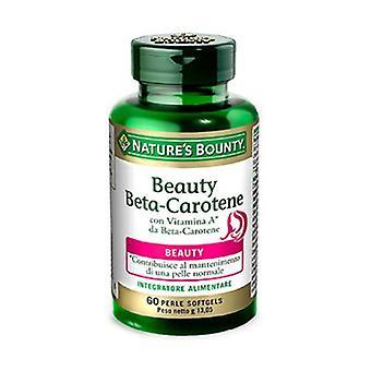 Beauty beta carotene 60 softgels