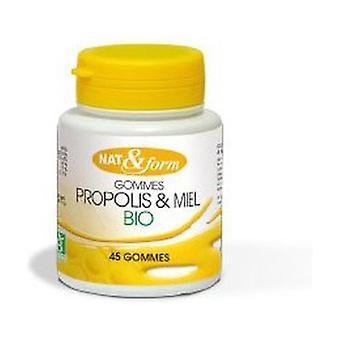 Propolis Organic Gums 45 units