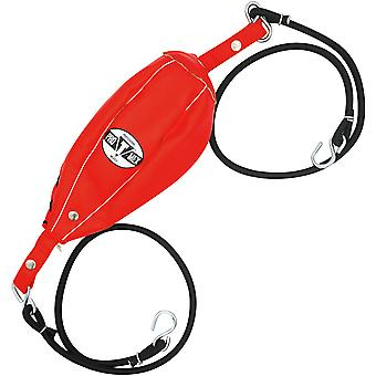 """Title Boxing Pro Mex Professional Double End Bag - 5"""" x 9"""" - Red"""
