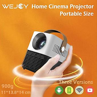Wejoy Y7 Mini Projector Battery Wifi Bluetooth Airplay Miracast Android Hd