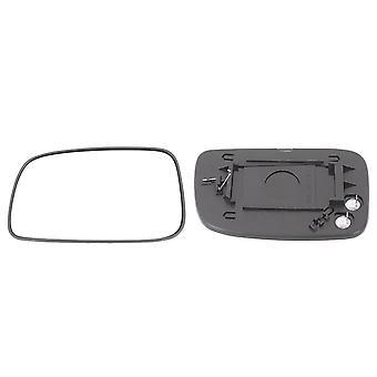 Vänster passagerarsidan vinge spegel glas (uppvärmd), lätt att montera & hållare