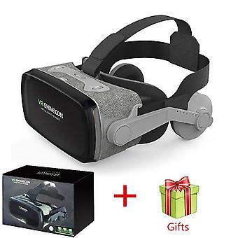 2019 Shinecon casque 9.0 vr virtual reality goggles 3d glasses google cardboard vr headset box for 4.0-6.3 inch  smartphone