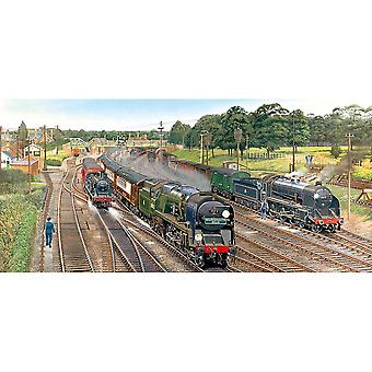 Gibsons Jigsaw Puzzle New Forest Junction 636 pieces Landscape