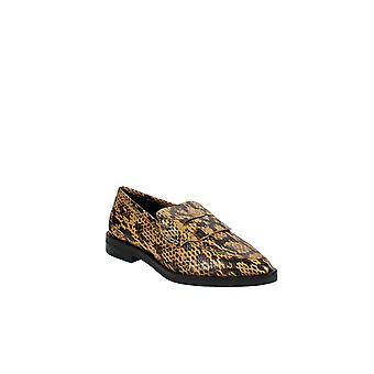 Rebecca Minkoff | Pacey Snake-Embossed Pointed-Toe Loafers