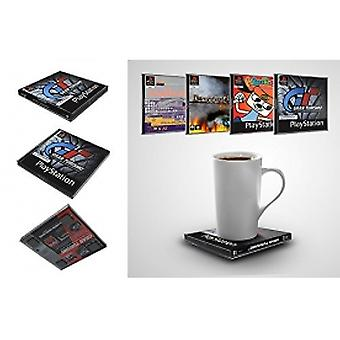 Oficial Sony PlayStation jogos Coasters - Volume 1 (pack 4)