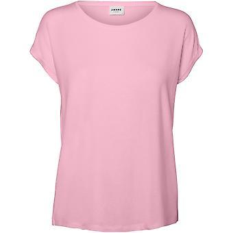 Vero Moda Naisten Ava Plain LyhytHihaInen Pusero t-paita T-paita
